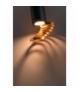 TUBA LAMPA SUFITOWA 1X15W GU10 6/20 ZŁOTY+CZARNY Candellux 2277110