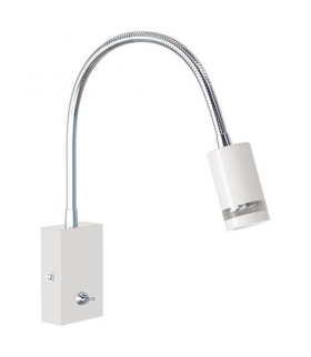 HL008L WHITE Kinkiet nad lustro obraz LED 3W 230V