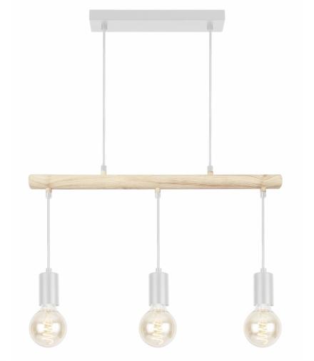 IZZY LAMPA WISZĄCA 3X60W E27 BIAŁY Candellux 33-78070
