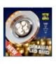OPRAWA STROPOWA SS-23 CH/TR+AM GU10 50W+LED SMD 230V BURSZTYNOWY 2,1W CHROM STAŁ Candellux 2238234