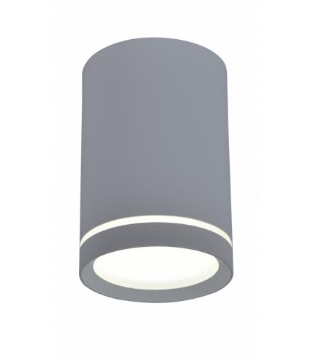TUBA LAMPA SUFITOWA 1X15W GU10 6,8/10 SZARY Candellux 2276007
