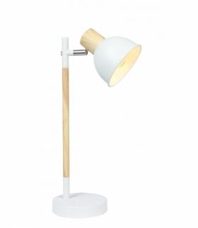 BONDO LAMPA GABINETOWA 1X40W E14 BIAŁO DREWNIANY Candellux 41-80011