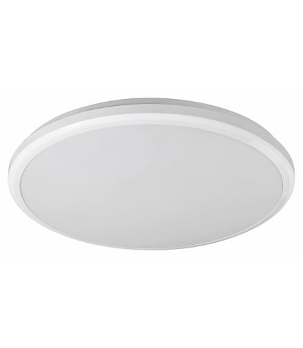 Plafon łazienkowy BRANDON, LED 24W 1500lm, 3000K IP65, biały Rabalux 1429