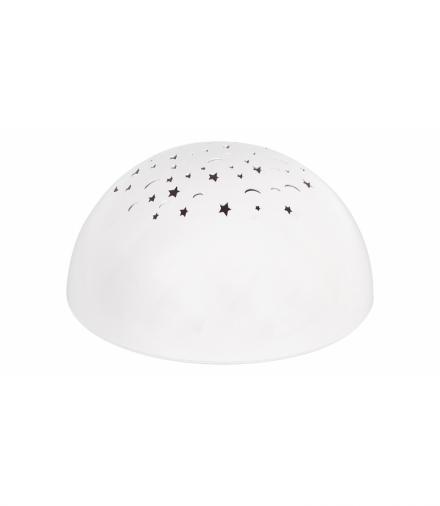 Lampa dziecięca LINA, DC 4,5V, RGB LED, 0,5W, IP20, biały Rabalux 1470