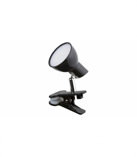 Lampa typu clip NOAH, LED, 5W 360lm, 3000K, IP20, czary Rabalux 1478