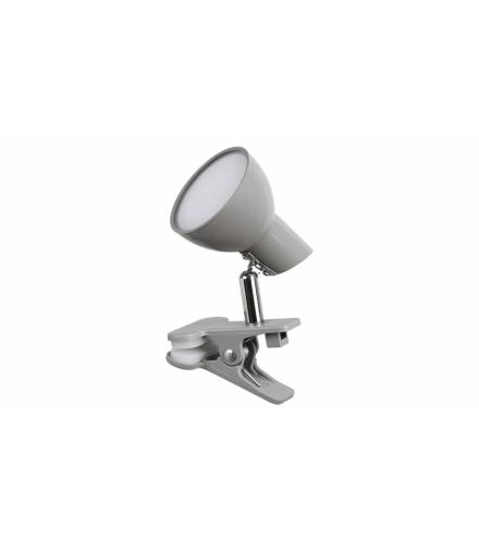 Lampa typu clip NOAH, LED, 5W 360lm, 3000K, IP20, szary Rabalux 1480