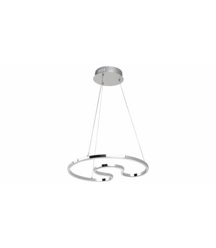 Lampa wisząca Melora LED 30W 2400lm 4000K chrom Rabalux 2190