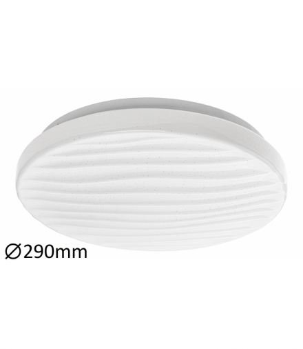 Plafon MILENA LED 12W, IP20 840lm, 3000K, biały Rabalux 2674