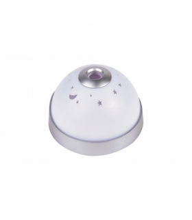 Lampa zegarek Lupe RGB LED 0,5W DC 5V IP20 30lm biały 3xAAA Rabalux 6990