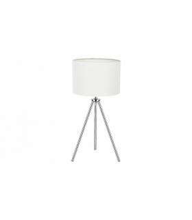 Lampa stojąca STANISLAW,E-27, 1max 60W, IP20, chrom biały Rabalux 5597