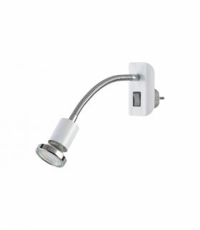 Oświetlenie punktowe Dobra LED 4,5W GU10 340lm 3000K w zest. max 1x35W biały chrom Rabalux 5673