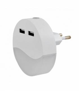 Lampka ładowarka Lily LED 0,4W IP20 17lm,3000K biały Rabalux 6804