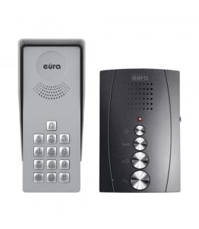 DOMOFON ADP-38A3 - grafitowy, jednorodzinny, głośnomówiący, kaseta z szyfratorem
