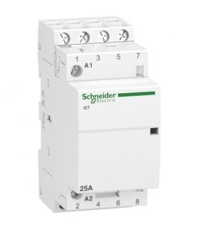 Stycznik modułowy Acti9 iCT50-25-40-230 25A 4NO 50Hz 220/240 VAC, A9C20834 Schneider Electric