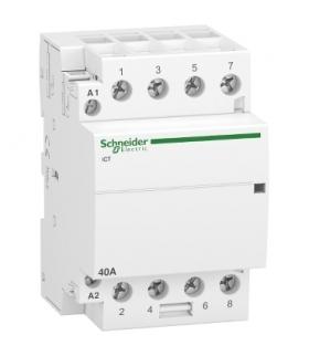 Stycznik modułowy Acti9 iCT50-40-40-230 40A 4NO 50Hz 220/240 VAC, A9C20844 Schneider Electric