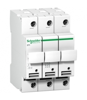 Podstawa bezpiecznikowa Acti9 STI-10,3x38-3 3-biegunowa, A9N15656 Schneider Electric