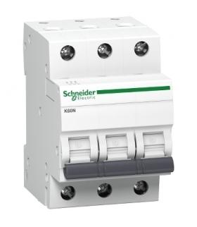 Wyłącznik nadprądowy K60 K60N-C20-3 C 20A 3-biegunowy, A9K02320 Schneider Electric