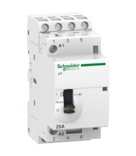 Stycznik modułowy Acti9 iCT50r25-40-230 25A 4NO 50/60Hz 220/240 VAC, A9C21834 Schneider Electric