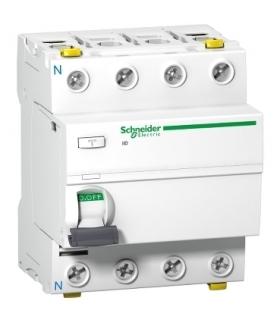 Wyłącznik różnicowoprądowy Acti9 iID-25-4-30-AC 25A 4-biegunowy 30mA typ AC, A9Z11425 Schneider Electric