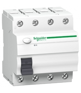 Wyłącznik różnicowoprądowy K60 IDK-63-4-30-AC 63A 4-biegunowy 30mA typ AC, A9Z05463 Schneider Electric