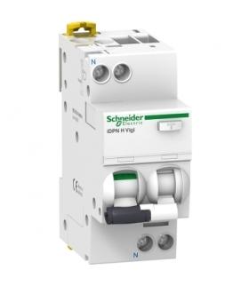 Wyłącznik kombinowany Acti9 iDPNHVigi-B16-30-1N-A B 16A 1N-biegunowy 30 mA typ A, A9D07616 Schneider Electric
