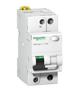 Wyłącznik kombinowany K60 DPNVigiK-B16-30-AC B 16A 1N-biegunowy 30 mA typ AC, A9D22616 Schneider Electric