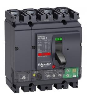 Compact NSX, wyłącznik NSX160F, 36 kA, 415 VAC z MicroLogic 4.2 Vigi, 160 A, 4p 4d, LV433837 Schneider Electric