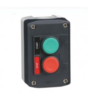 Harmony XALD stacja sterująca, ciemnoszarym, przyciski zielony i czerwony, powracające sprężynowo, 22 mm, XALD211H29H7 Schneider