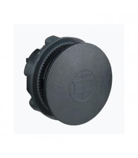 Harmony XB5 Nakładka Ø22 czarna bez opisu okrągła plastikowa, ZB5SZ3 Schneider Electric