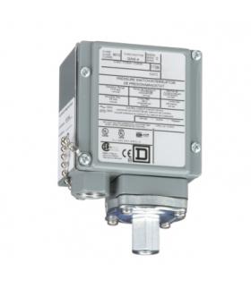 OsiSense XM Elektromechaniczny czujnik ciśnieniowy 9012G regulacja między dwoma progami 1.5 do 75 psig, 9012GAW4 Schneider Elect