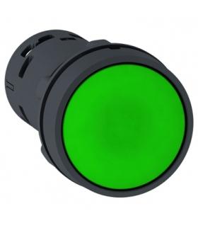 Harmony XB7 Przycisk płaski zielony z samoczynnym powrotem bez oznaczenia, XB7NA31 Schneider Electric