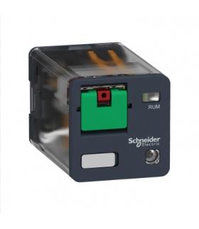 Zelio Relay Przekaźnik uniwersalny z przyciskiem test LED 3C/O 10A, 230V AC, RUMC32P7 Schneider Electric