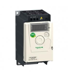 Przemiennik częstotliwości ATV12 1 fazowe 100/120VAC 50/60Hz 0.18kW 1.4A IP20, ATV12H018F1 Schneider Electric