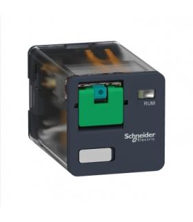 Zelio Relay Przekaźnik uniwersalny z przyciskiem test 3C/O 10A, 24V DC, RUMC31BD Schneider Electric