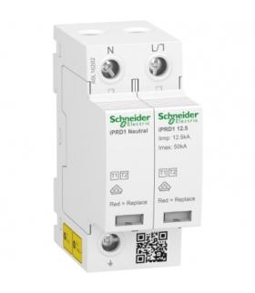 Ogranicznik przepięć iPRD1 12.5R-T12-1N 1+1-biegunowy Typ1+Typ2 12,5 kA ze stykiem, A9L16282 Schneider Electric