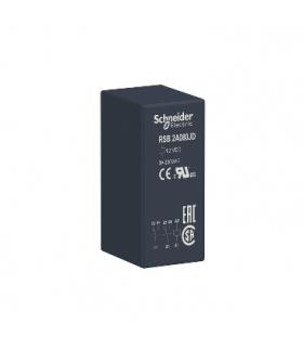 Zelio Relay Przekaźnik interfejsowy 2C/O 8A, 12V DC, RSB2A080JD Schneider Electric