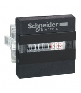 Zelio Count Mechaniczny licznik godzin z 7 cyfrowym wyświetlaczem 230V AC, XBKH70000002M Schneider Electric