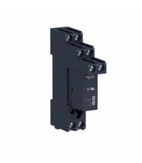 Przekaźnik interfejsowy z gniazdem 12V DC, 8A, 2 styki C/O, RSB2A080JDS Schneider Electric