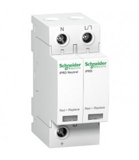 Ogranicznik przepięć Acti9 iPRD8-T23-1N 1+1-biegunowy Typ2+Typ3 8 kA, A9L08500 Schneider Electric
