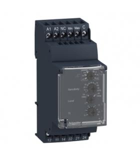Zelio Control Przekaźnik kontroli poziomu cieczy, 24 240V AC/DC, 2C/O 5A, RM35LM33MW Schneider Electric