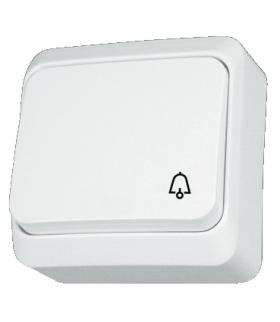 """Prima Przycisk """"dzwonek"""" biały Schneider WDE001012"""