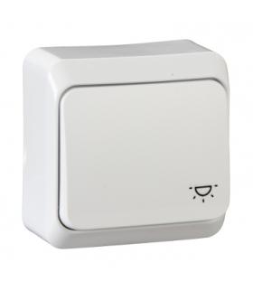 """Prima Przycisk """"światło"""" biały Schneider WDE001013"""