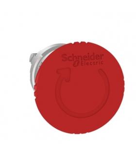 Harmony XB4 Głowka przycisku grzybkowego z mechanizmem zatrzyskowym Ø40 czerwona metalowa, ZB4BS844 Schneider Electric
