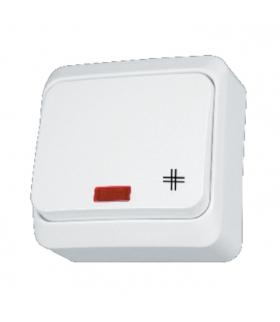 Prima Łącznik krzyżowy z podświetleniem biały Schneider WDE001071