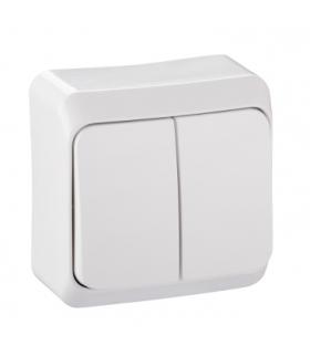 Prima Łącznik świecznikowy z podświetleniem biały Schneider WDE001051