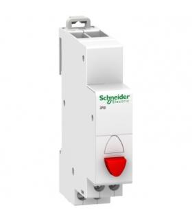 Przycisk pojedynczy (z samopowrotem) Acti9 iPB-20-01-R 20A 1NC czerwony, A9E18031 Schneider Electric