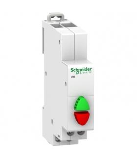 Przycisk podwójny (z samopowrotem) Acti9 iPB-20-11-2-G/R 20A 1NO/1NC szary/czerwony, A9E18034 Schneider Electric