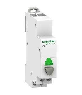 Przycisk pojedynczy z lampką (z samopowrotem) Acti9 iPB-20-10-I 20A 1NO 110-230 VAC, A9E18036 Schneider Electric