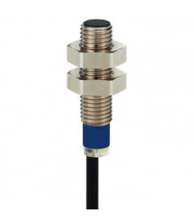 OsiSense XS Czujnik indukcyjny XS5 M8 L51mm nierdzewny Sn1.5mm 12..48VDC kabel 2m, XS508BLPAL2 Schneider Electric