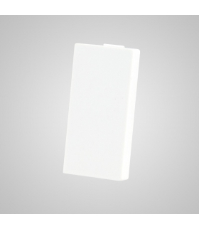 Moduł 1/2, zaślepka, biała - Touchme
